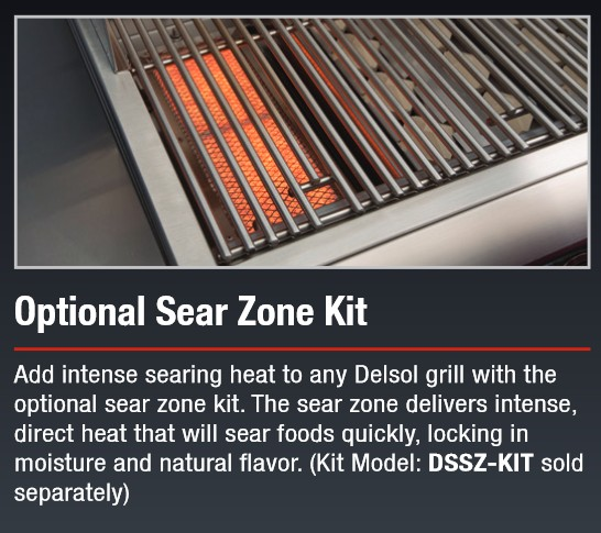 Delsol Sear Zone Kit
