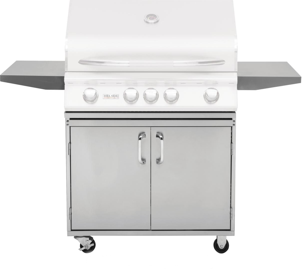 "32"" Delsol Grill Base, Knock-Down"
