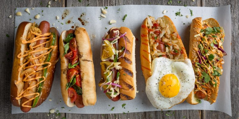 Craziest Hotdog and Best Toppings for Burgers