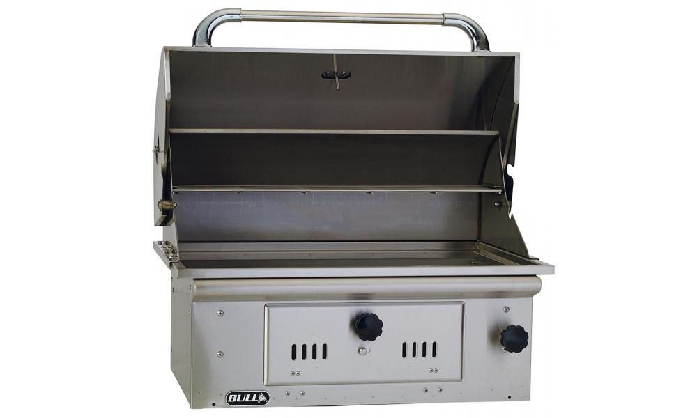 Bison Charcoal Grill Drop In Unit