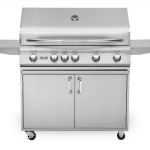 "40"" Delsol Gas Grill with Rotisserie Burner, 5 Burner"
