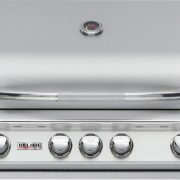 "32"" Delsol Gas Grill with Rotisserie Burner, 4 Burner"