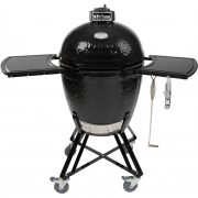 Primo All-In-One Ceramic Kamado Grill With Cradle & Side Shelves