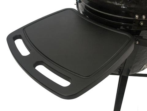 Primo Oval JR 200 All-In-One Ceramic Smoker Grill On Cart