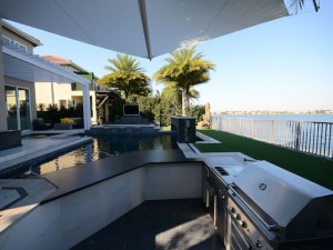 San Diego BBQ Outdoor Kitchen and Grill Space