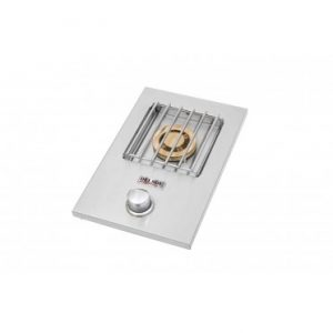 Delsol Single Side Burner, Drop-In, (L/N)