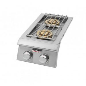 Delsol Double Side Burner, (L/N)